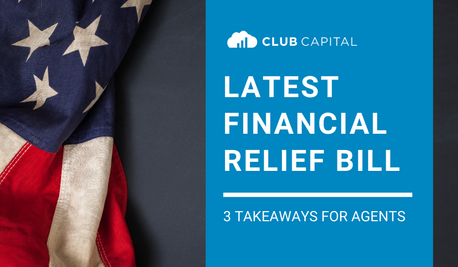 3 Takeaways for Agents on the New Financial Relief Package