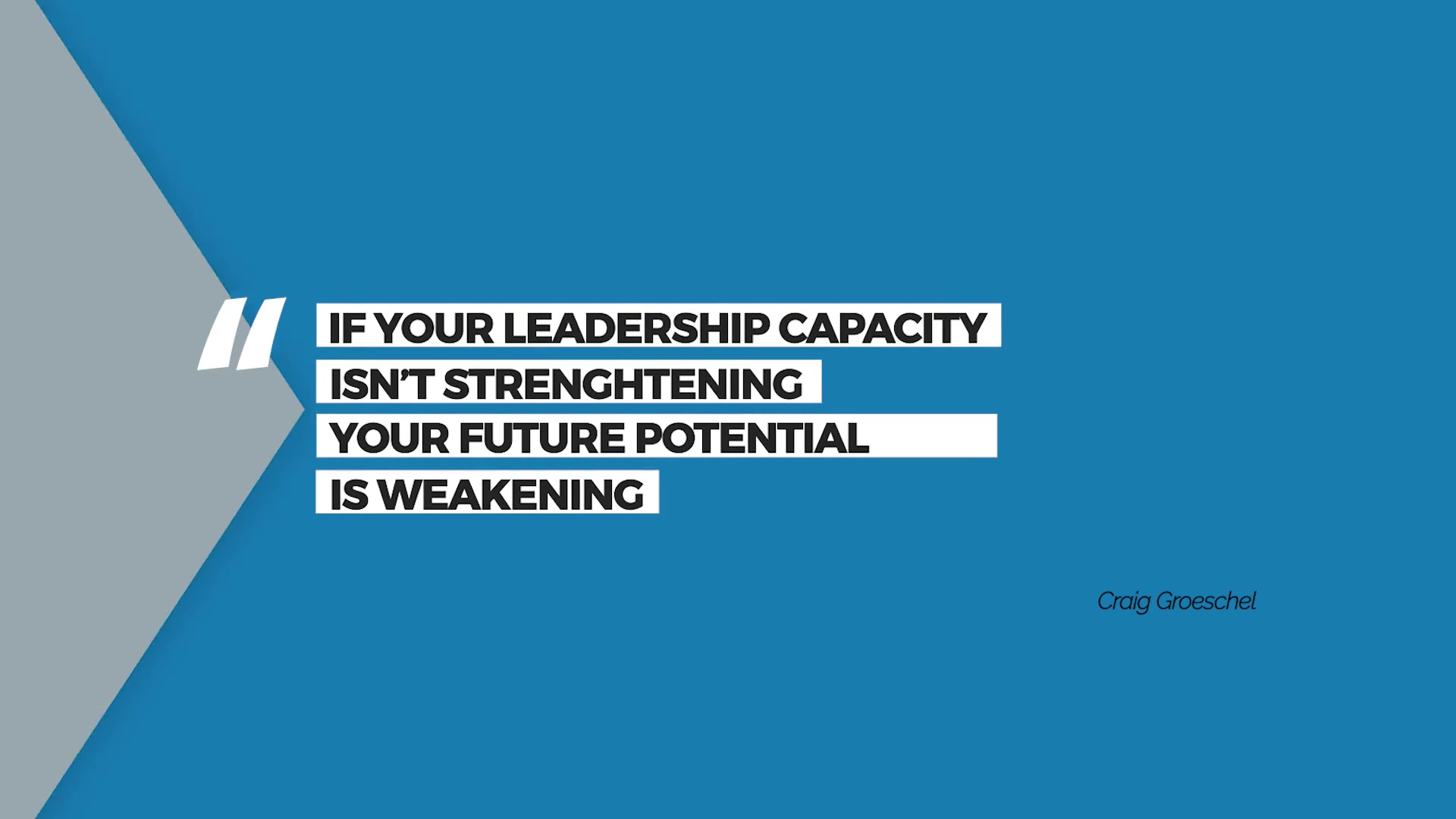 Episode 5: Grow Your Leadership Capacity
